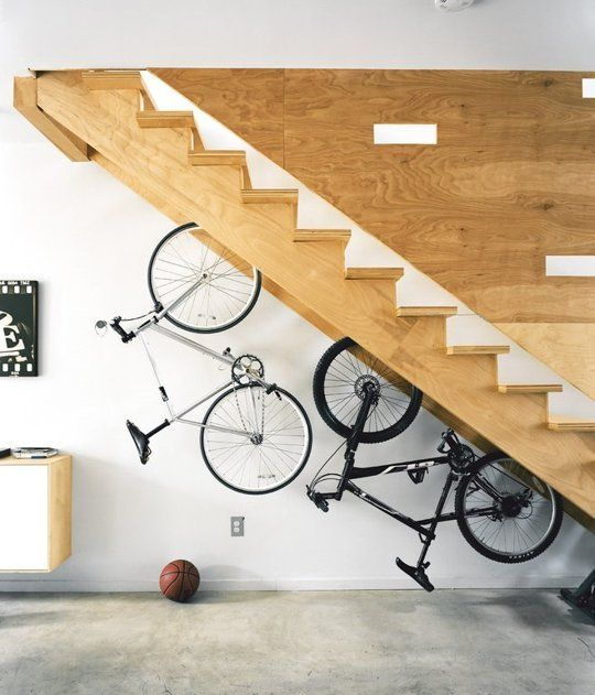 bici pe rle scale