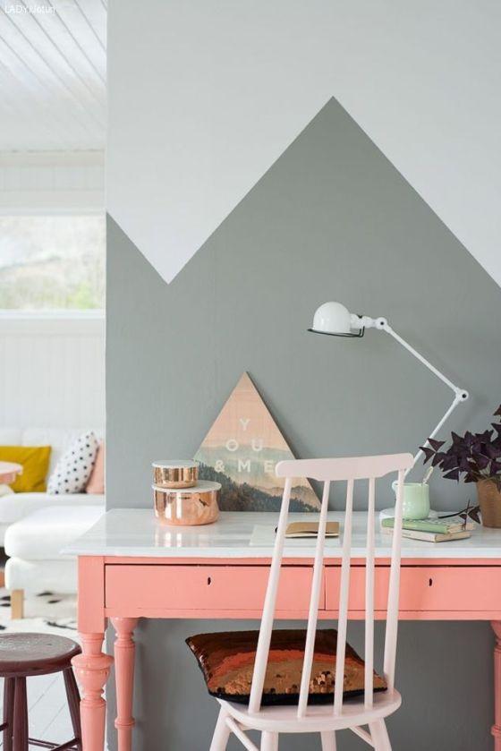 desk pink