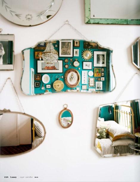 specchio parete